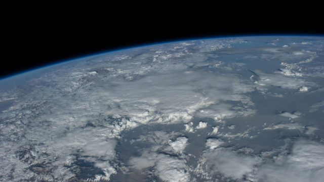 View on planet Earth from Space