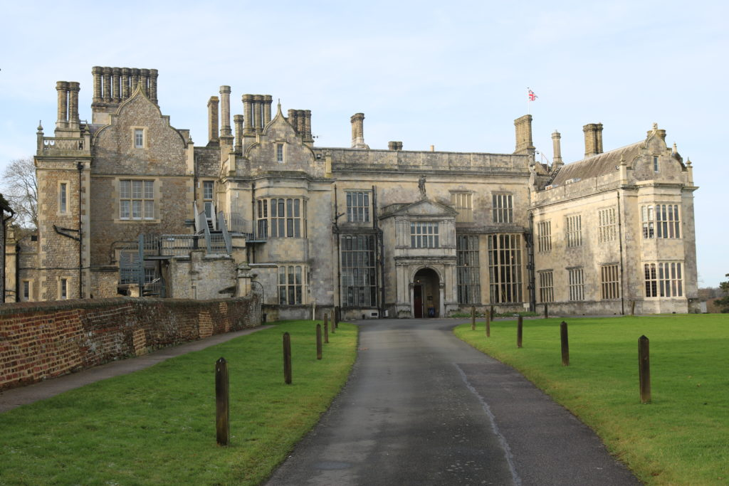Wiston House in Sussex, home to Wilton Park